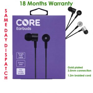Core braided in-earphones